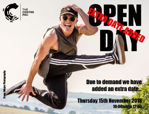 Extra Open Day. Thursday 15th November